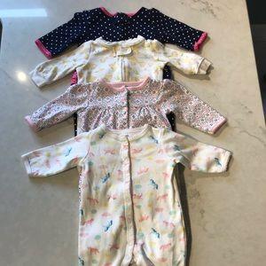 Other - Baby Girl Sleeper Bundle